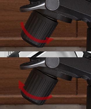 ロッキング固さ調節機能