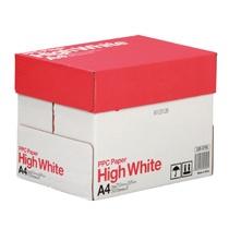 A4コピー用紙 2,500枚(500枚×5冊入) High White