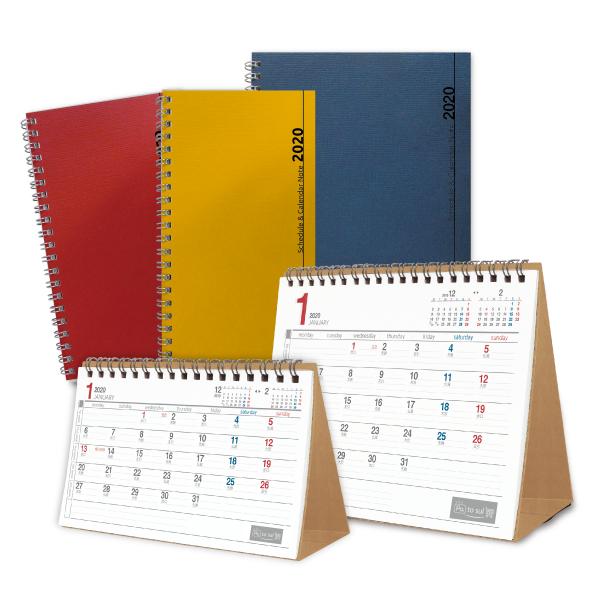 ノート型カレンダー